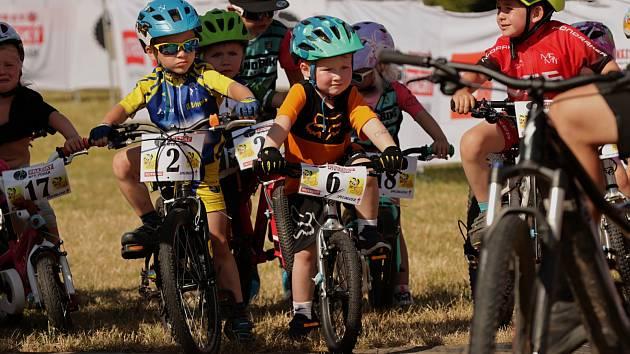 Pražský MTB pohár je oblíbeným závodem pro malé i velké cyklisty.