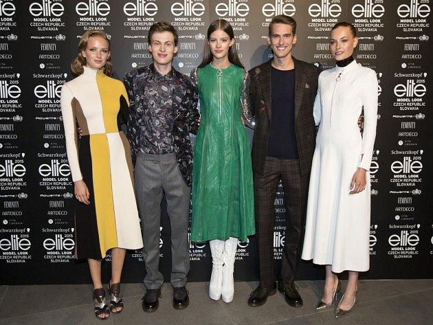 Z finále prestižní soutěže Schwarzkopf Elite Model Look 2015 pro Českou a Slovenskou republiku.
