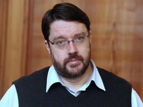 Ředitel Městské knihovny Praha Tomáš Řehák.