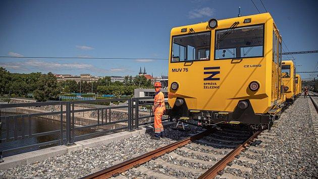 Negrelliho viadukt - prohlídka před otevřením