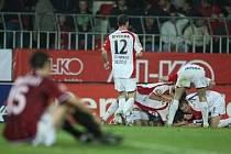 Slavia pokořila svého letitého soupeře 2:0. Po čtrnácti letech vyhrála na Letné.