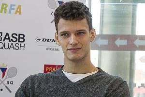 Český squashista Martin Švec.
