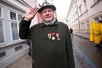 V sobotu 7. ledna Prahou prošla skupina příznivců monarchie Rakouska-Uherska.
