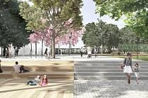 Praha 3 vybrala vítěze veřejné architektonické soutěže o obnovu náměstí Jiřího z Lobkovic.