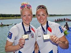 Lenka Antošová a Kristýna Fleissnerová.