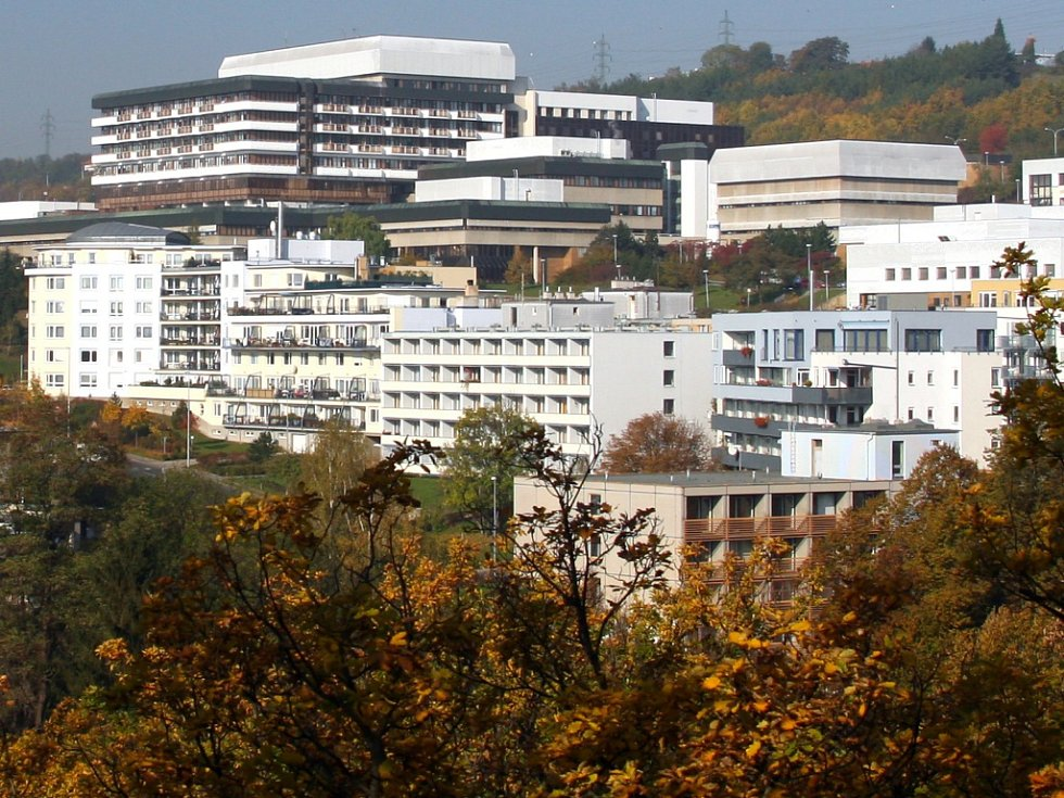 Nemocnice Na Homolce v Praze.