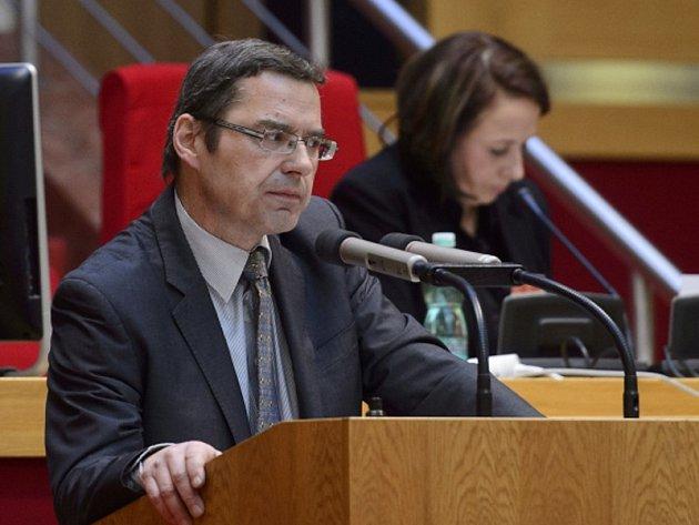 Předseda pražského klubu zastupitelů TOP 09 Václav Novotný.