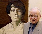 Jan Hladík a jeho tapiserie Kamila.
