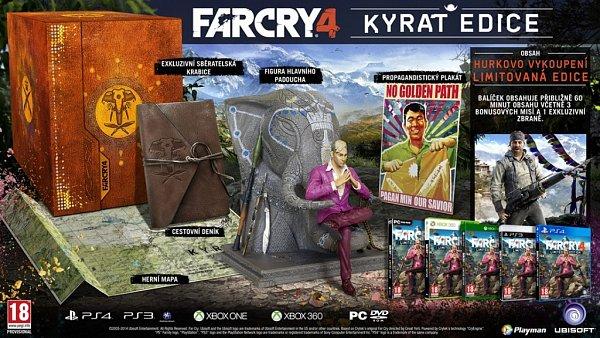 Počítačová hra Far Cry 4 - Kyrat edice.