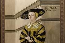 Jakob Seisenegger - Portrét Anny z Rožmitálu (Státní zámek Telč)