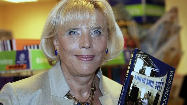 Marie Poledňáková pokřtila svoji autobiografickou knihu