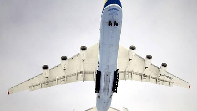 Nákladní letadlo Antonov An-225 Mrija.