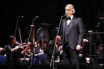 Tenorista Andrea Bocelli.