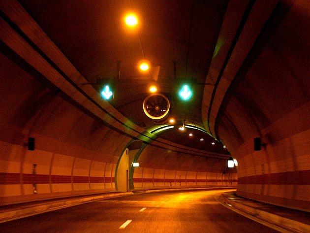 Tunel Mrázovka. Ilustrační foto.