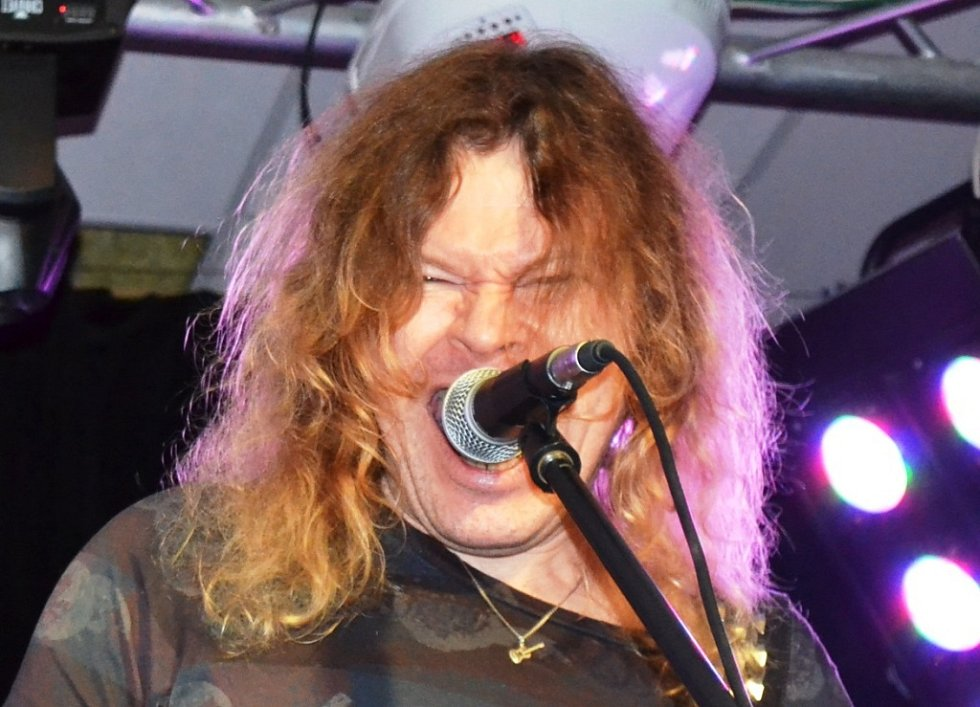 Z generální zkoušky kapely Kranz v Music City v pražských Vysočanech.