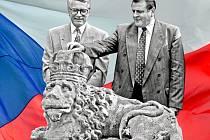 Seriál k rozpadu Československa
