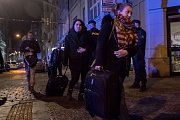 Hasiči a záchranáři zasahovali 20. ledna při požáru hotelu Eurostars David v Náplavní ulici nedaleko Masarykova nábřeží na Novém Městě v Praze. Pražská záchranná ošetřila devět zraněných, z toho pět těžce. Mezi zraněnými jsou i dva hasiči. Dva lidé při po