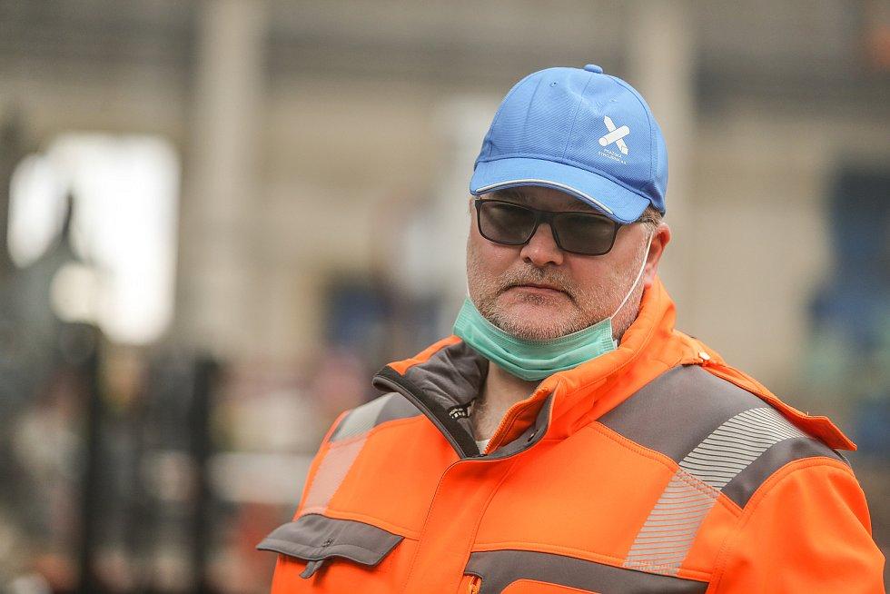 Robert Masarovič, generální ředitel a předseda představenstva Pražské strojírny a.s.