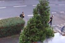 Krádež nosiče kol.