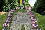 Památník 4. obrněné divizi v Písku, který vznikl z iniciativy Richarda Prause.