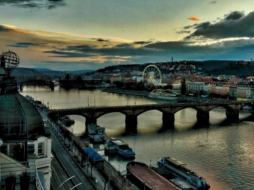 Vizualizace Ruského kola na Praze 5