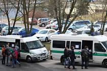 Pražskou policii posílili i kolegové z jiných regionů.