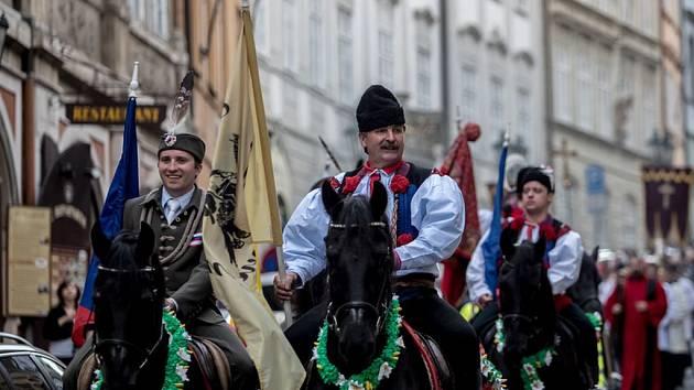 Oslava Navalis, svátku sv. Jana Nepomuckého.