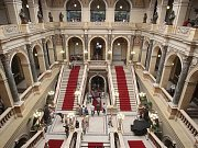 Poslední návštěvní den před rekonstrukcí Národního muzea.