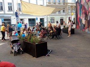 Revitalizace průchodu v ulici Za Poříčskou bránou.