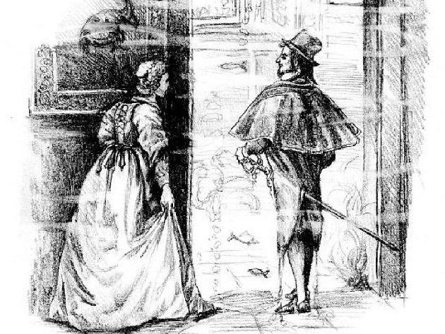 Kupec Kalmán se o dceru bál, ta však našla své štěstí s vodníkem ve zlatém paláci na dně Vltavy.