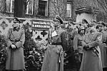 Karl Hermann Frank se 4. dubna 1940 účastní slavnostního aktu přejmenování Pelléovy třídy, prvmí ulice, jíž nacisté změnili jméno