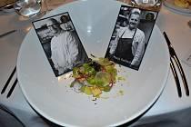 Festival Chef Time Fest: z kuchařského 'duelu' Jaroslav Žídek - Marek Raditsch v dejvické restauraci AvantGarde.