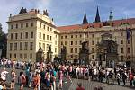 Hradčanské náměstí.