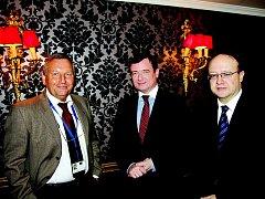 Setkání s představiteli Evropské komise v Bruselu.