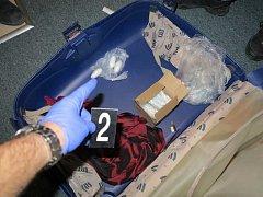 Kokain v kufru