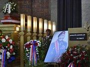Poslední rozloučení s válečným hrdinou a veteránem Jaroslavem Klemešem.