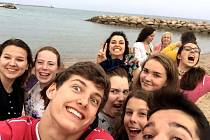 Na konci dubna středočeští žáci vyrazili vyměňovat si zkušenosti do Barcelony.