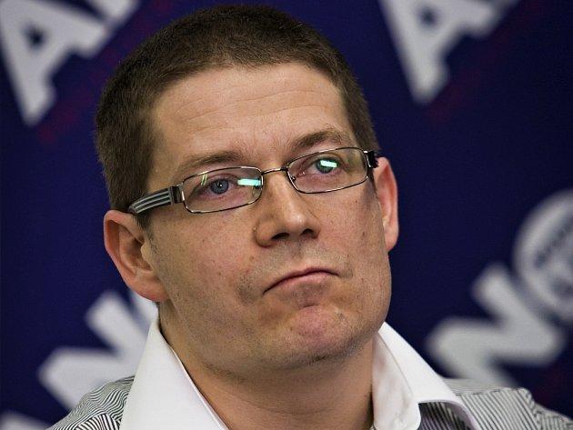 Zastupitel a předseda sociálního výboru Patrik Nacher (ANO).