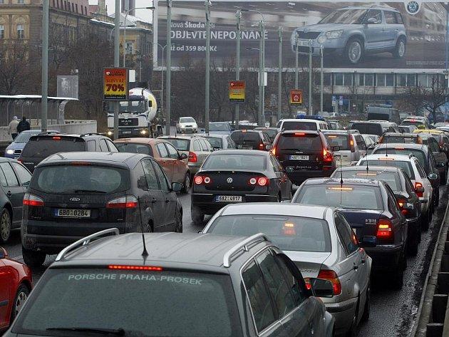 Kolony v Legerově ulici v Praze.
