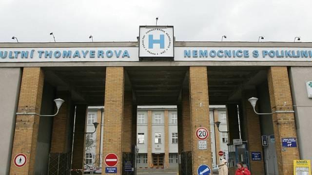 Thomayerova nemocnice. Ilustrační foto.