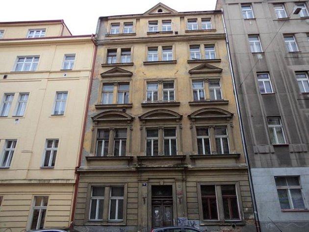 Dům v ulici Dobrovského 19.