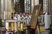 Pohřeb kardinála Vlka.
