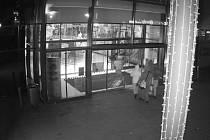 Vloupání do nákupního centra v Praze 4.