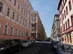 Bořivojova ulice.