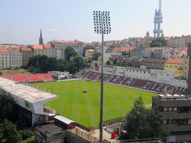 Stadion FK Viktoria Žižkov.