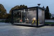 Po celý březen si můžete před Kongresovým centrem prohlédnout venkovní designovou výstavu.