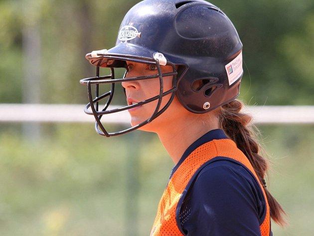 Česká reprezentantka v softballe Tereza Jakešová hledí k šampionátu s optimismem.