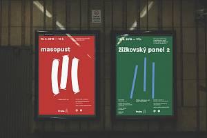 Praha 3 má novou vizuální identitu. Tři čárky připomínající účet ze žižkovské putyky vyvolalo na internetu značný ohlas.