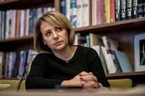 Pražská primátorka Adriana Krnáčová poskytla 16. března v Praze rozhovor Deníku.