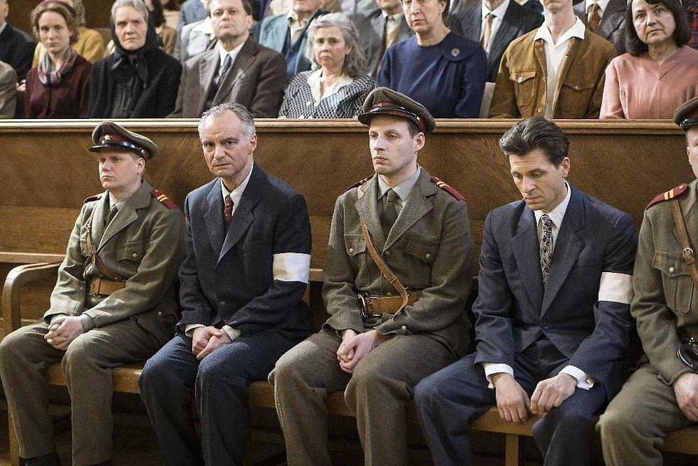 Autokino Strahov promítá po celý víkend. Snímek z filmu Šarlatán (v pátek).